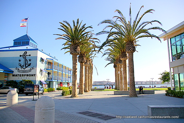 Waterfront Hotel Jack London Square Oakland Ca