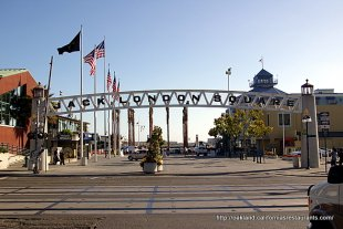 Jack London Square Dock Entrance