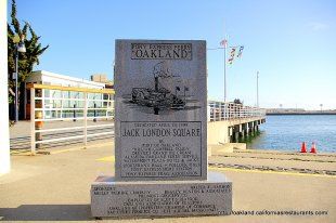 Jack London Square Pony Express Ferry Stone- (medium sized photo)