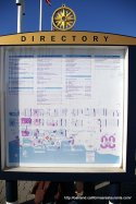 Jack London Square Wharf Directory in Oakland, CA